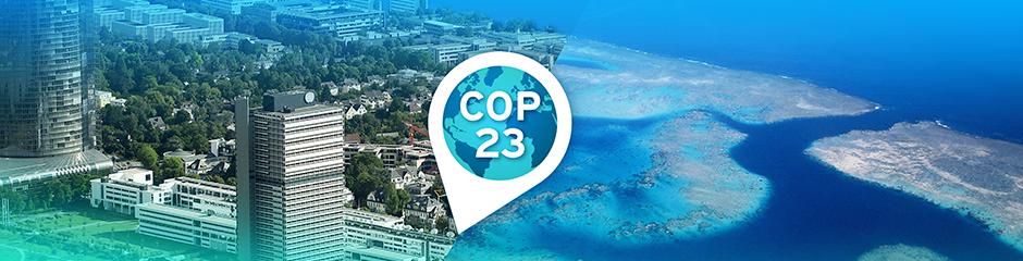 COP23 header image: Bonn blends to Fiji