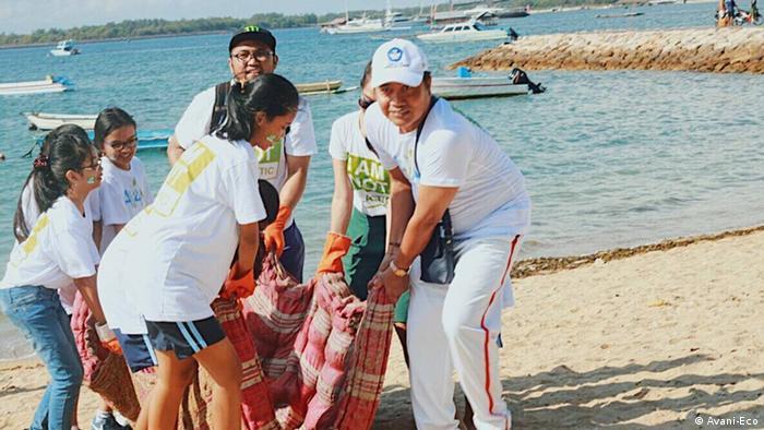Bali Avani-Eco Plastikmüll
