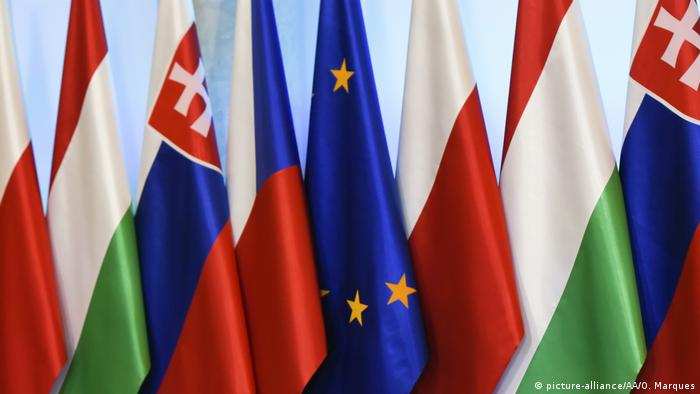 Visegrad group country members