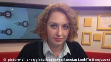 Russland Moskau - Ekho Moskvy Radiomoderatorin mit Messer im Studio angegriffen