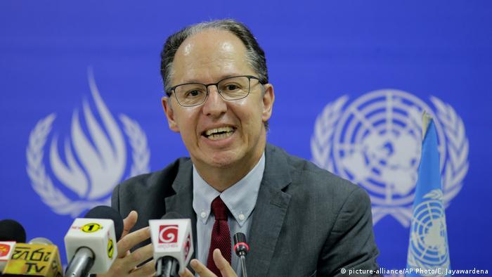 UN special rapporteur Pablo de Greiff