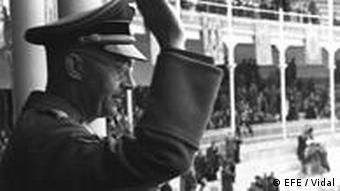 Nazi SS Chief Heinrich Himmler at a famous bullring in Madrid, October 20, 1940.