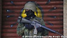 Brasilien Rios Polizei tötet Touristin aus Spanien in Favela Rocinha ARCHIV