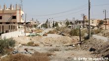 Syrien Stadtansicht von al-Qaryatain