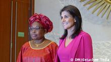 Äthiopien Nikki Haley in Addis Abeba