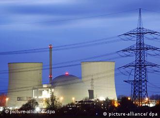 La central nuclear de Biblis, Alemania.