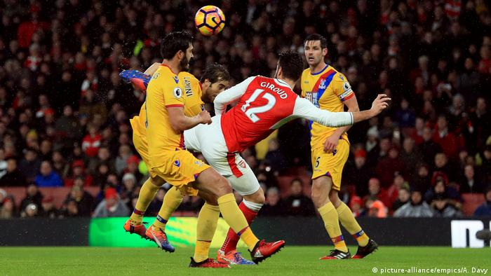 Fußball Premier League Arsenal - Crystal Palace (picture-alliance/empics/A. Davy)
