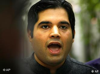 Varun Gandhi is accused of making anti-muslim remarks in political rallies