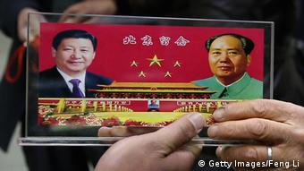 China Symbolbild Xi Jinping und Mao