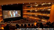 ST PETERSBURG, RUSSIA - OCTOBER 23, 2017: Inside the Mariinsky Theatre ahead of the St Petersburg premiere of Matilda, a film directed by Alexei Uchitel. Alexander Demianchuk/TASS Foto: Alexander Demianchuk/TASS/dpa |
