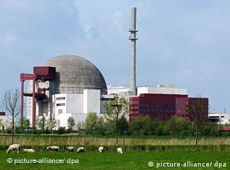 АЭС в немецком Брокдорфе