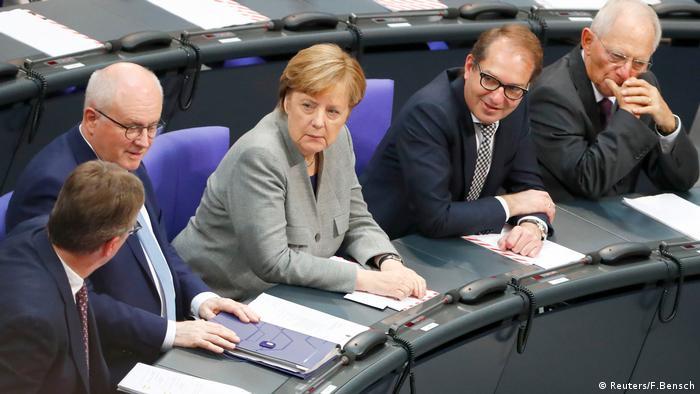 Bundestagssitzung Bundestag Berlin