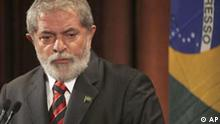 Brazilian President Luiz Inacio Lula da Silva speaks at The Wall Street Journal /Valor Economico Conference on Brazil: Global Partner in a New Economy -Sound Strategies for Challenging Times Monday, March 16, 2009 in New York. (AP Photo/Mary Altaffer)