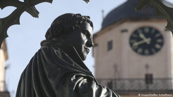 Пам'ятник Лютеру у Віттенберзі