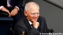 Deutschland 1. Sitzung im neuen Bundestag
