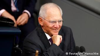 Wolfgang Schäuble: Teste de resistência, nada de crise