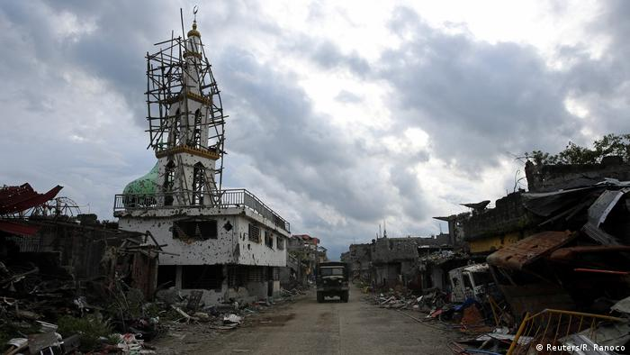 Philippinen Malawi nach dem Sieg über den IS (Reuters/R. Ranoco)