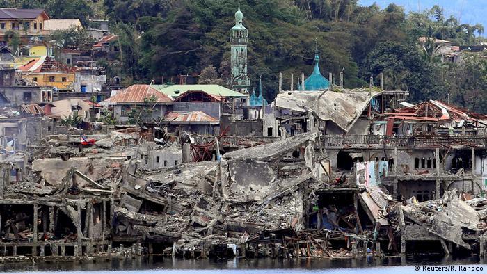 Philippinen Marawi nach dem Sieg über den IS