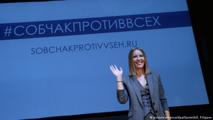 Russland Xenia Sobtschak, Moderatorin & Präsidentschaftskandidatin