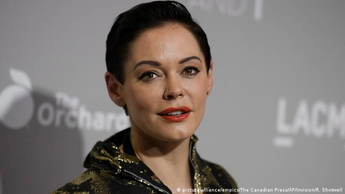 Rose McGowan (picture-alliance/empics/The Canadian Press/AP/Invision/R. Shotwell)