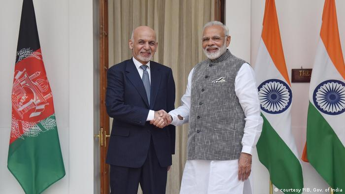 Indien Besuch Staatschef Afghanistan (courtesy PIB, Gov. of India)