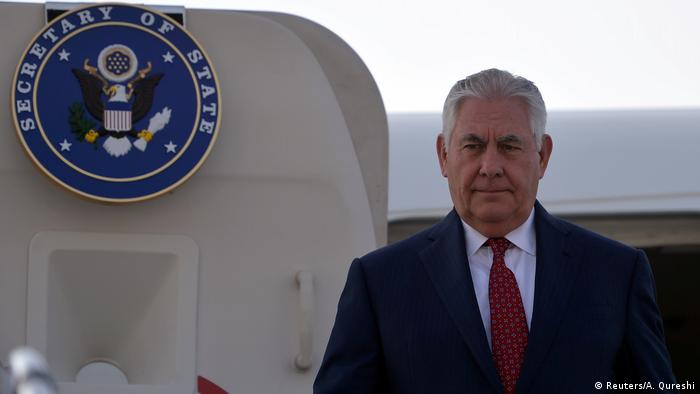 Pakistan Islamabad US-Außenminister Rex Tillerson | (Reuters/A. Qureshi)