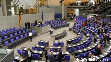 Germany's lower house of parliament, the Bundestag (DW/Nikita Jolkver)