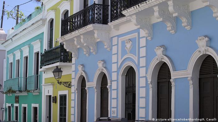Puerto Rico San Juan Altstadt Kolonialstadt