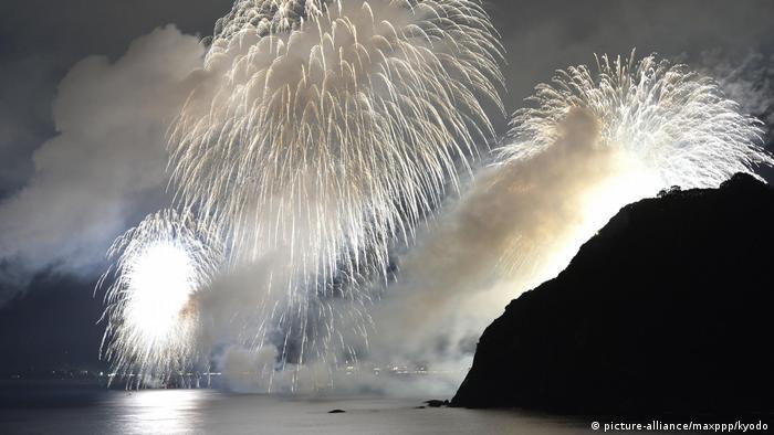 Japan Kii Berge Unesco - Feuerwerk