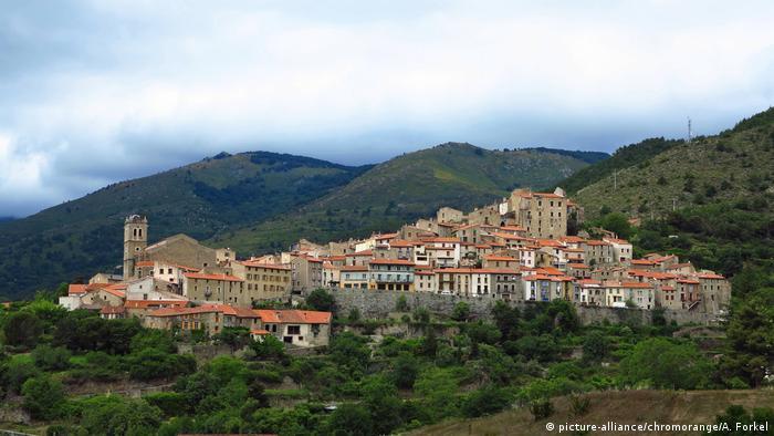 Frankreich Mosset Languedoc, Roussillon