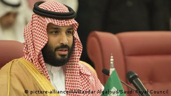 Saudi Arabia's Prince Mohammad bin Salman al-Saud