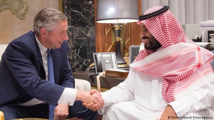 Riad Neom Projekt Mohammed bin Salman Klaus Kleinfeld