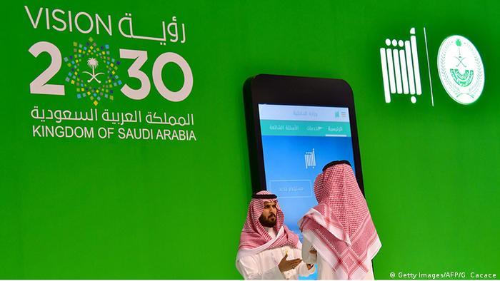 Gitex 2017 Ruyaa (Vision) 2030 Pavilion Saudi Arabien (Getty Images/AFP/G. Cacace)
