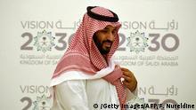 Saudi Arabien Vision 2030 PK Mohammed bin Salman