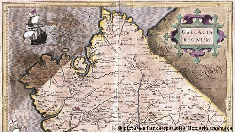 Historic map of Galicia (picture-alliance/dpa/Luisa Ricciarini/Leemage)