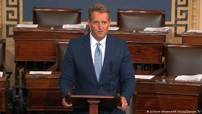 USA Jeff Flake (picture alliance/AP Photo/Senate TV)