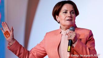 Meral Aksener Türkei Opposition (Getty Images/A.Altan)