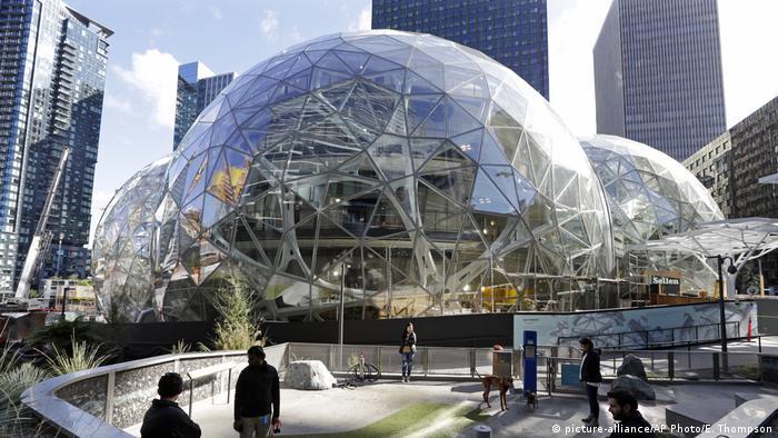 Штаб-квартира Amazon в Сиэтле