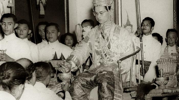 Thailand Krönung von König Bhumibol
