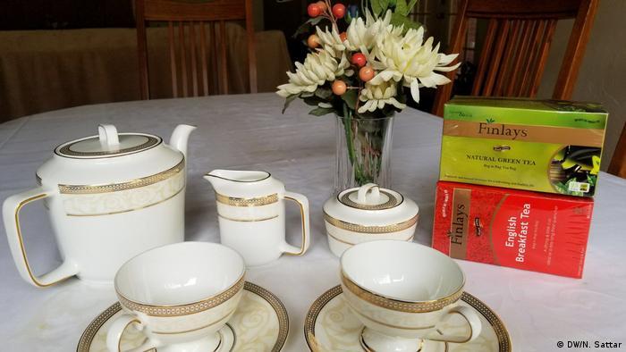 Tee Fabrik Finlay (DW/N. Sattar)