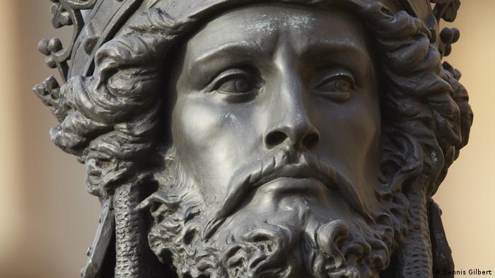 Фрагмент статуи Ричарда Львиное Сердце в Лондоне
