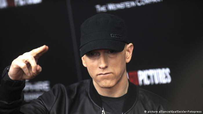Rapper Eminem 'Southpaw' New York Premiere (picture alliance/dpa/Geisler-Fotopress)