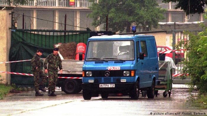 Germany 1996 - Provisional IRA attack on British barracks in Osnabrück