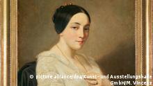 Porträt einer jungen Frau des Künstlers Thomas Couture