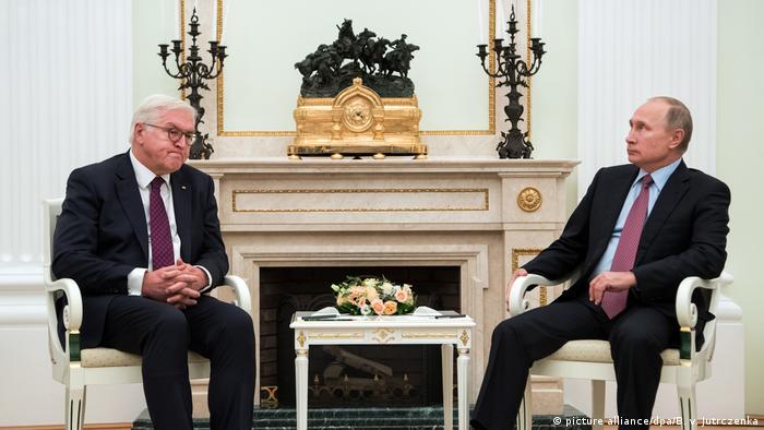 Russland Bundespräsident Steinmeier in Moskau