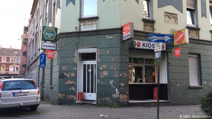 Magazin în cartierul Marxloh