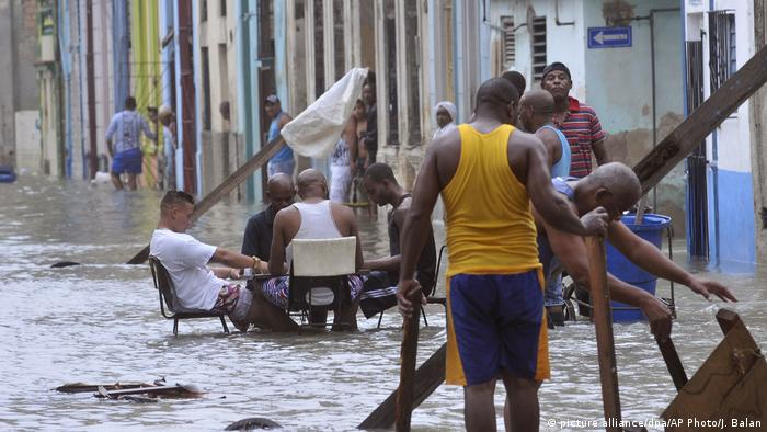 Cuba Hurricane Irma (picture alliance/dpa/AP Photo/J. Balan)