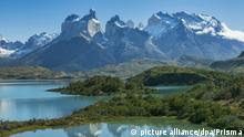 South America, Patagonia, Chile, Region de Magallanes y de la Antarctica, Torres del Paine, National Park, UNESCO, World Heritag | Verwendung weltweit