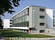 Sede modernista da Bauhaus, em Dessau
