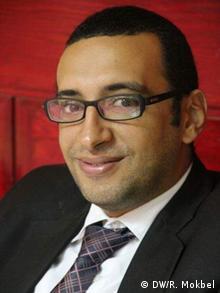 Rechtsanwalt Michael Raouf (DW/R. Mokbel)